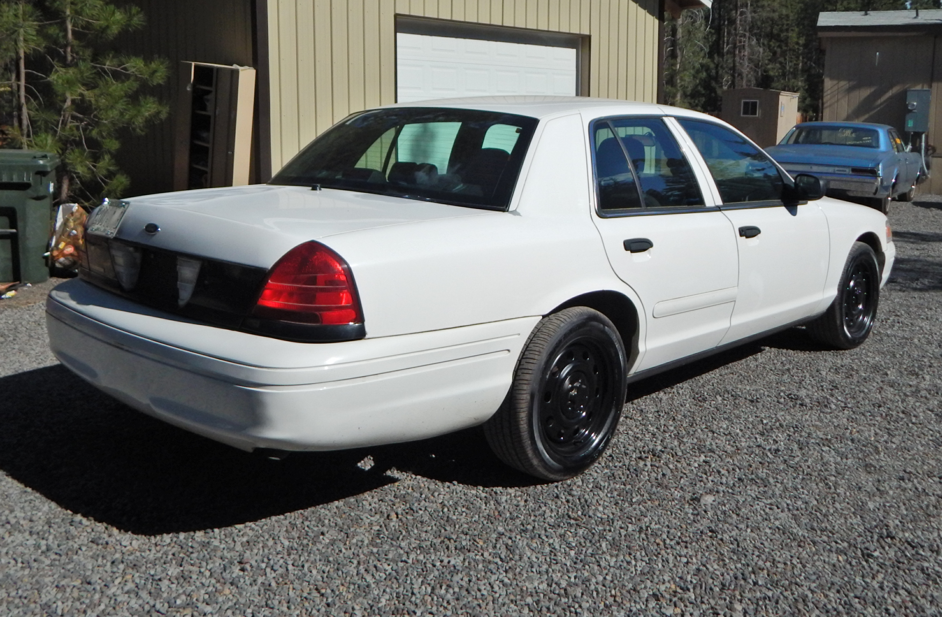2006 Ford Crown Victoria P71 cruise control - Interceptor King