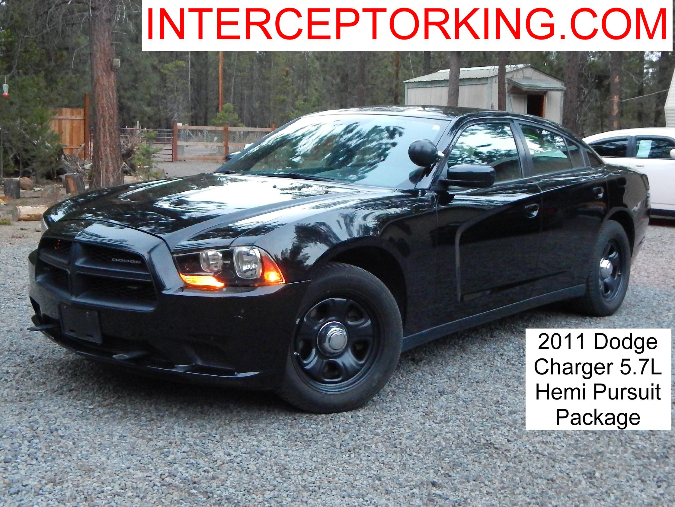 2011 Dodge Charger Pursuit Package 5 7l Hemi Interceptor King